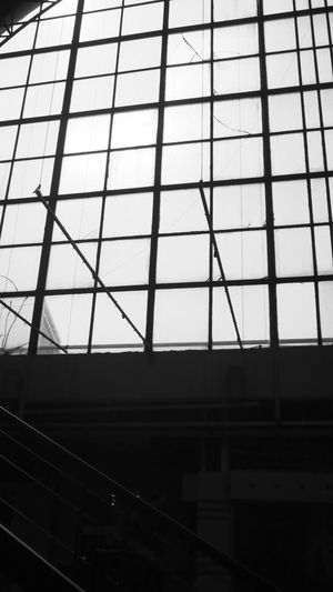 Abstract Skyline Roof Monochrome