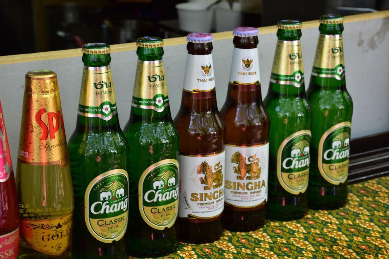 Thailand Beer Singha Beer Chang Beer Thai Restaurant Thai Food Sapporo Odori Park Hokkaido,Japan