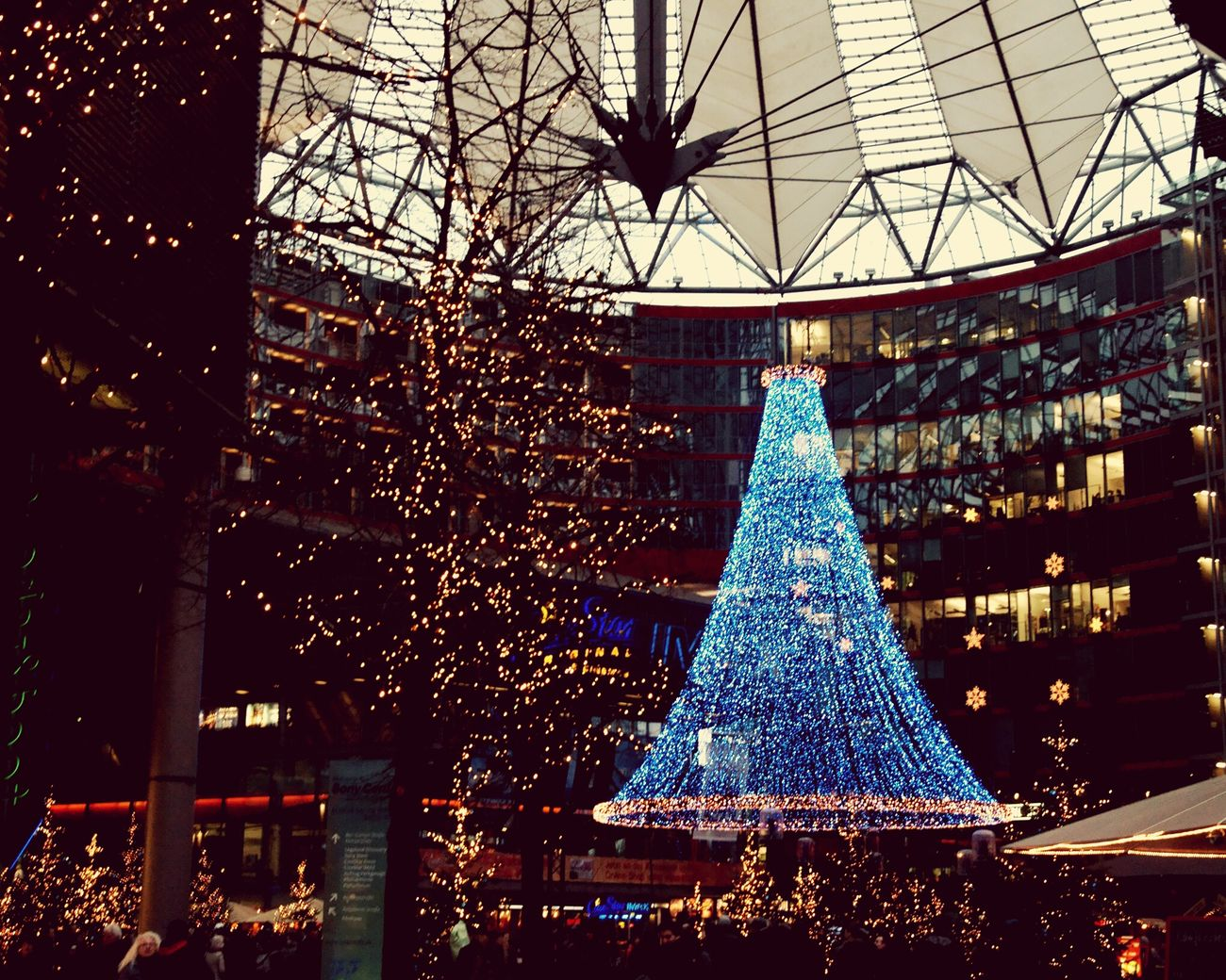 Sony Center Berlin Hello World Christmastime