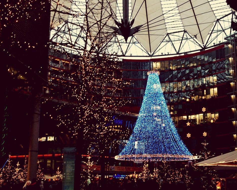 Sony Center Berlin Hello World Christmastime