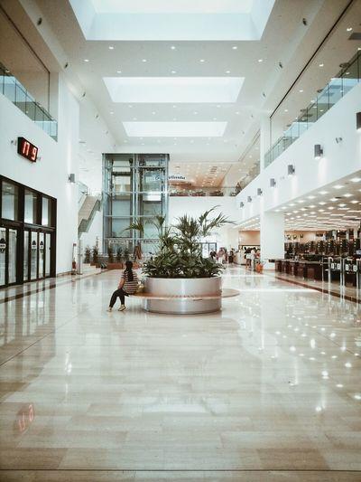 VSCO Mall Architecture Solitude