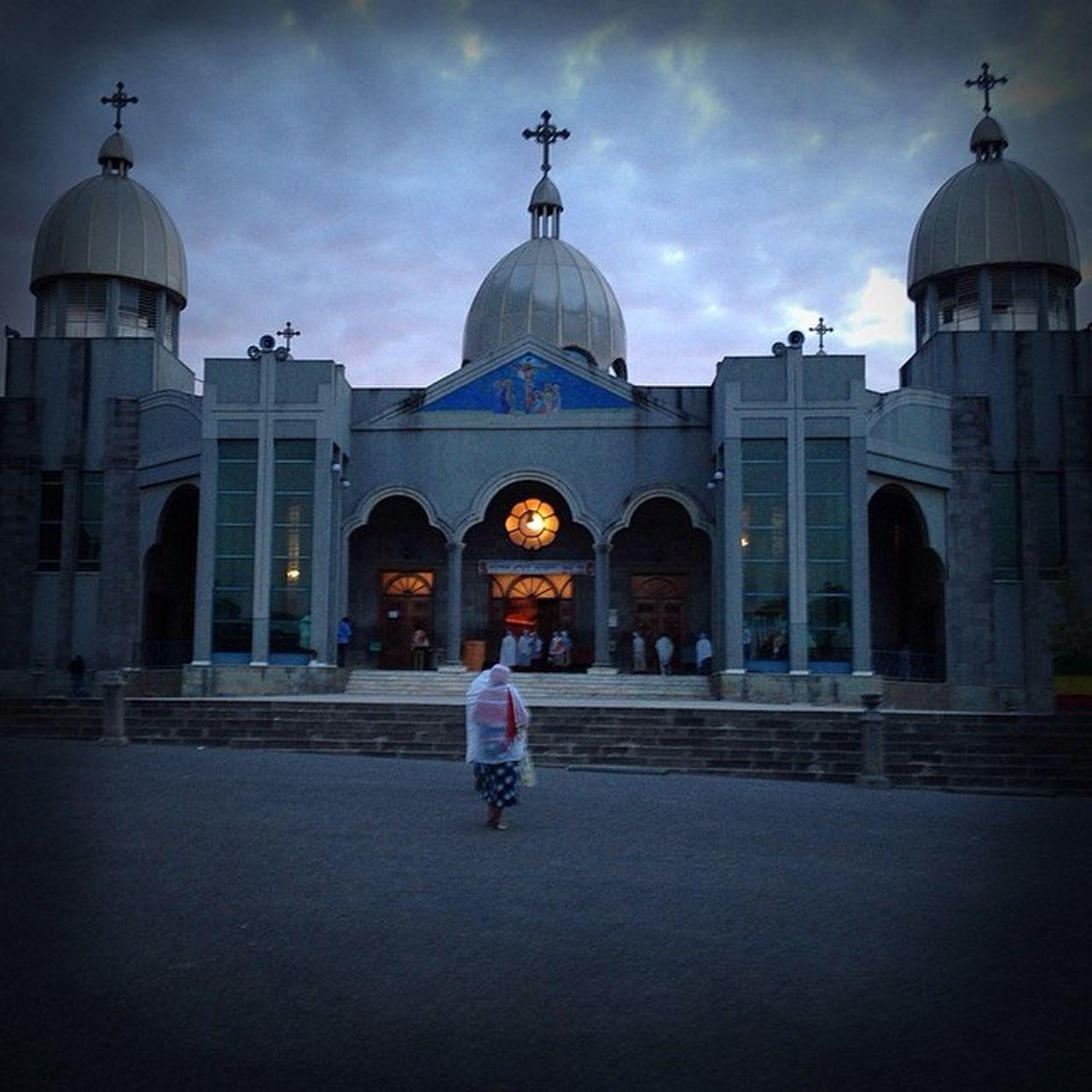 EthiopianOrthodox EthiopianOrthodoxChurch Sahlitemihret Cathedral Addis  Addisababa Ethiopia Africa