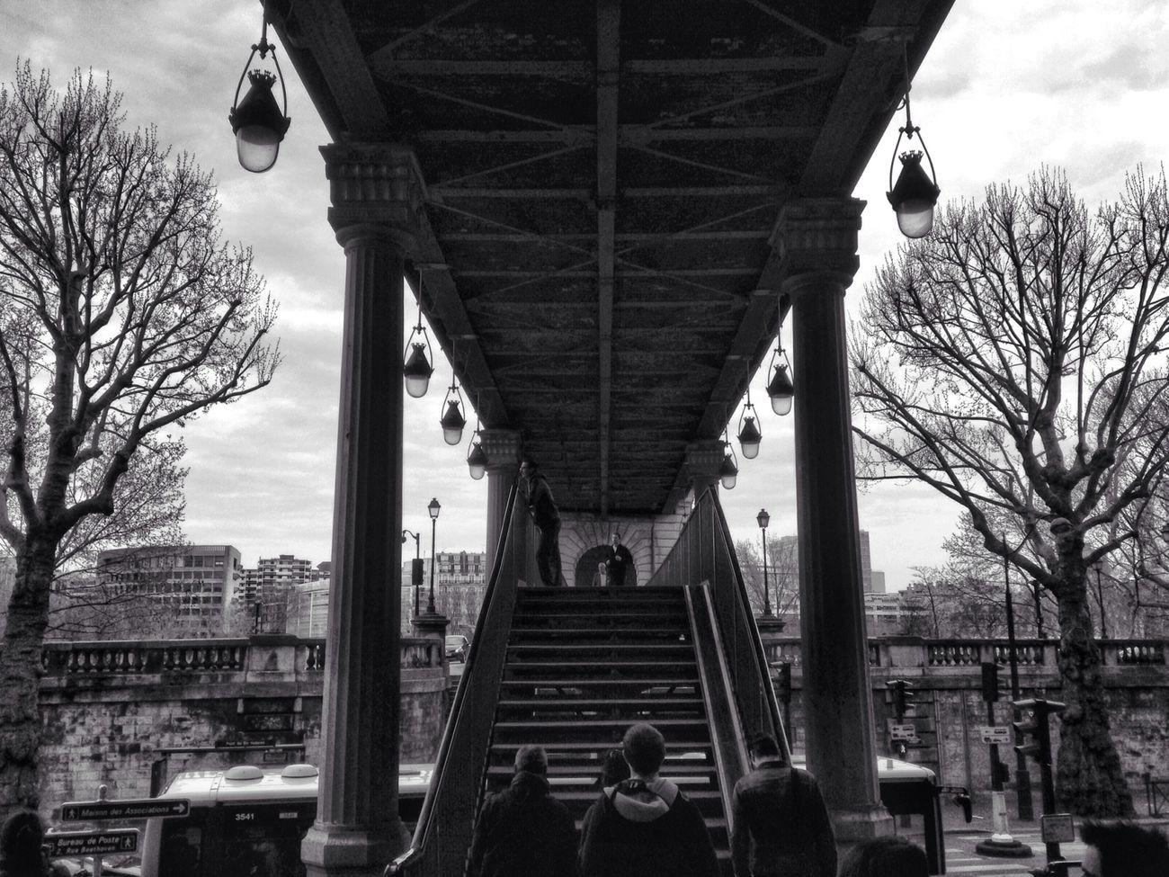 Pont de Bir-Hakeim Paris Blackandwhite Eye4black&white