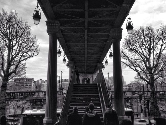 Pont de Bir-Hakeim Paris Blackandwhite Eye4black&white