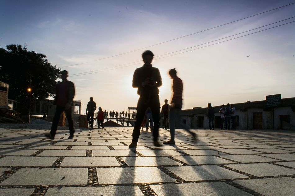 Young Adult Men Adults Only People Adult Sky Outdoors Only Men Day Boxes Marble Reflections Patterns Light And Shadow Sunrise Silhouette Exploring Traveling Floor Sky And Clouds Landscape Street Photography