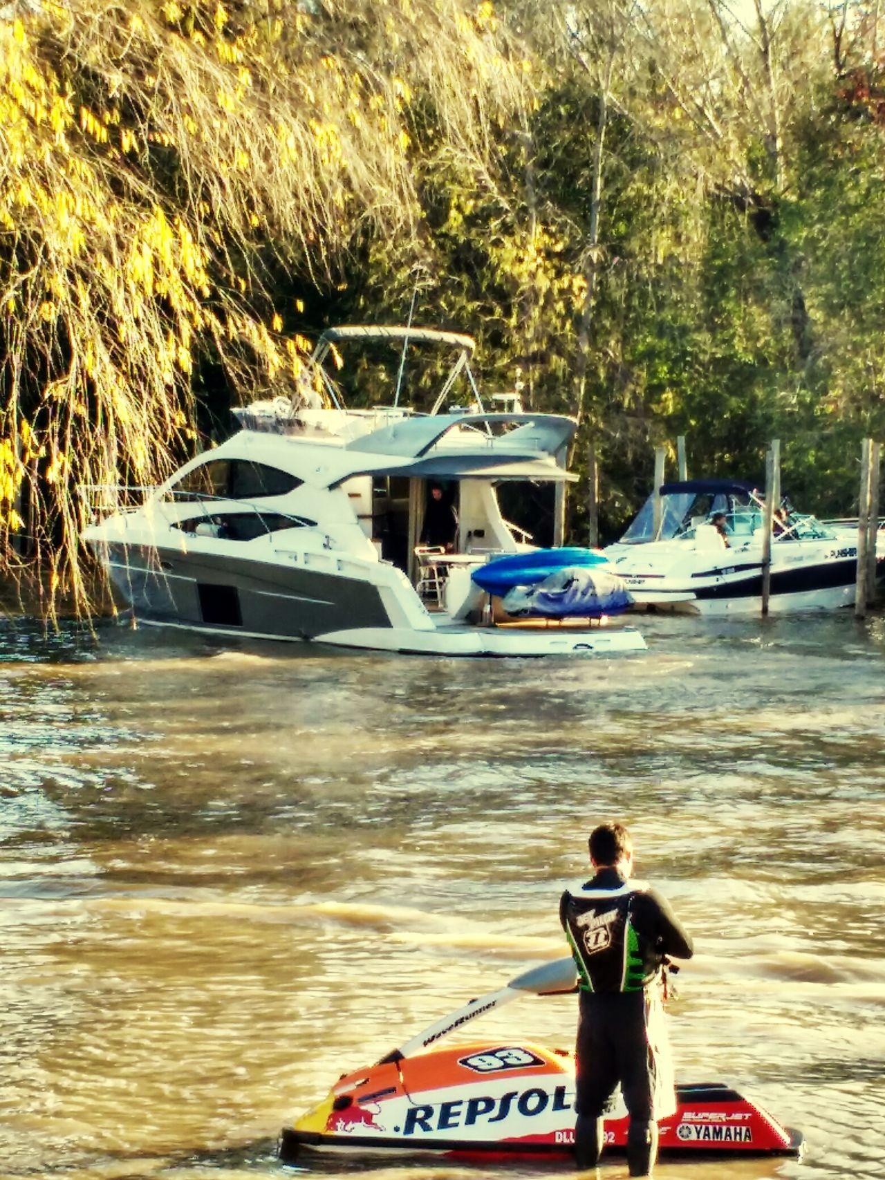 River Ski Outdoors Water Nature Nautical Vessel Jetskie
