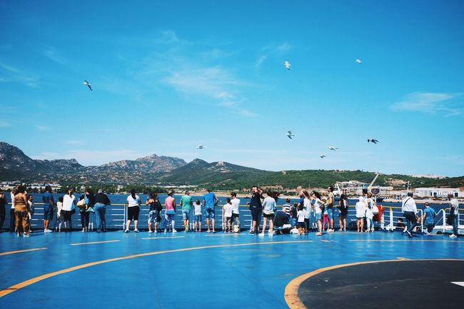 Flying over your heads - VSCO Vscocam Ferry Fuji X100s