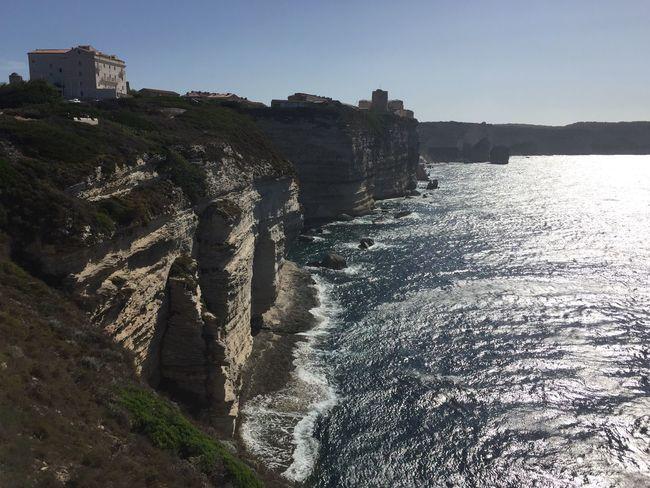 Sea Beauty In Nature Falaise Corse Corsica Rocks