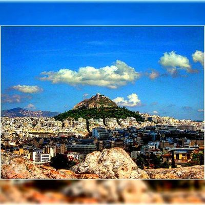 Greece Ελλάδα Athens Αθηνα Whitecity Atina VisitGreece Instagreece Instaathens Amazing City Streetsofathens Greekarchitecture Architecture Beautiful View Viewfromthetop Mountlycabettus