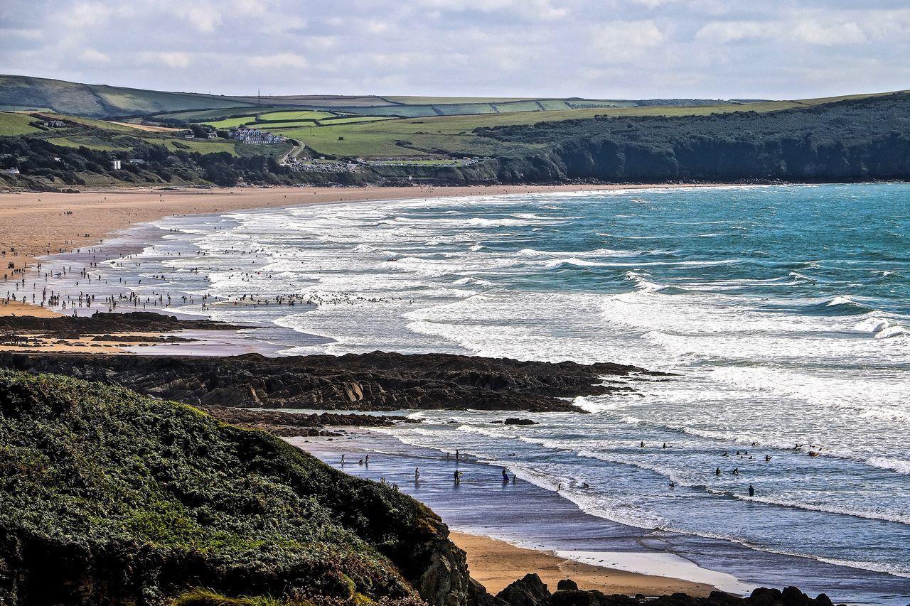 Beach Nature Ocean View Pembrokeshire Pembrokeshire Coast Sea Wales Wales❤ Water Waves Waves, Ocean, Nature