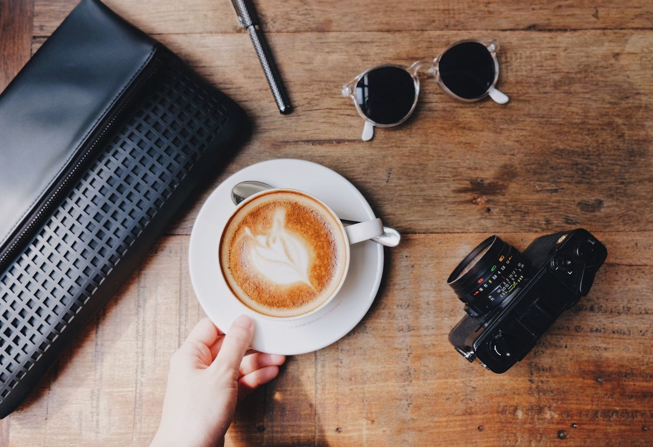 Beautiful stock photos of coffee,  Bag,  Camera - Photographic Equipment,  Coffee - Drink,  Coffee Cup