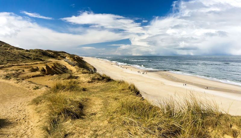 Kampen - Sylt Beach Cloud - Sky Grass Kampen Nature Outdoors Sea Sky Sunlight Sylt Sylt, Germany Travel Destinations Water