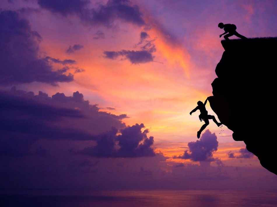 Beautiful stock photos of silhouette, A Helping Hand, Action, Art And Craft, At The Edge Of