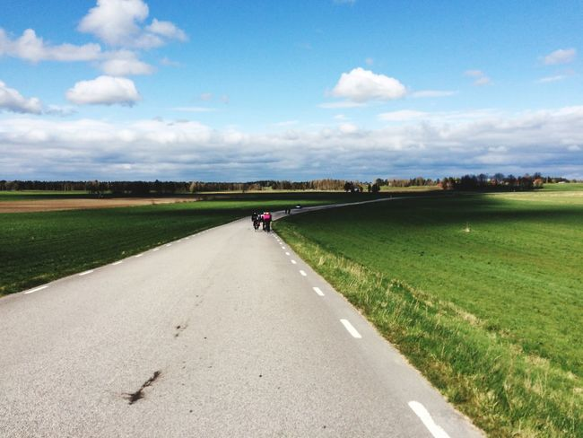 Roadcycling On The Road Cycling Sport Sweden Småland