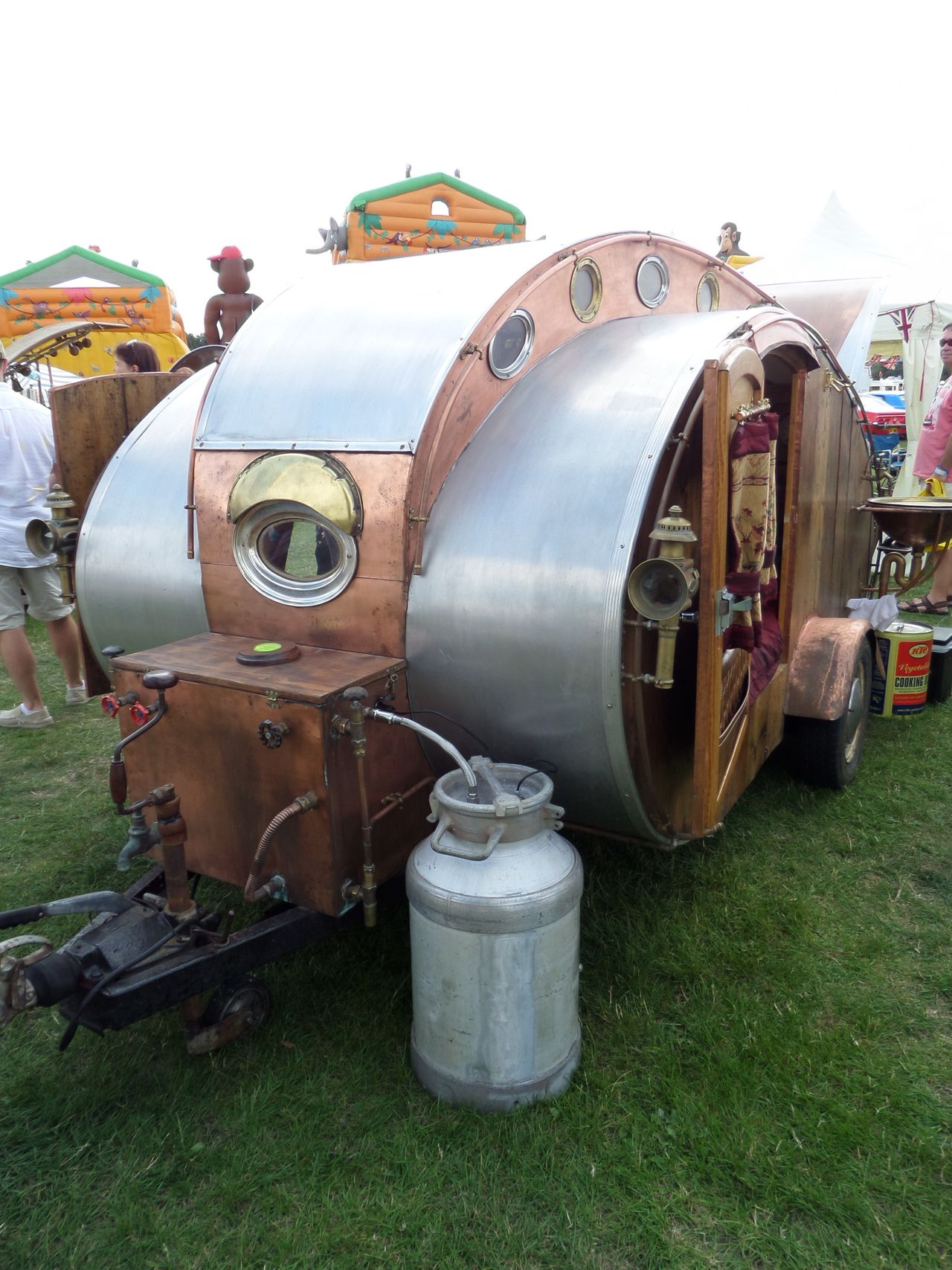 Q. Quirky. Field Grass Land Vehicle Mode Of Transport No People Old Old-fashioned Q Quirky Stationary Transportation