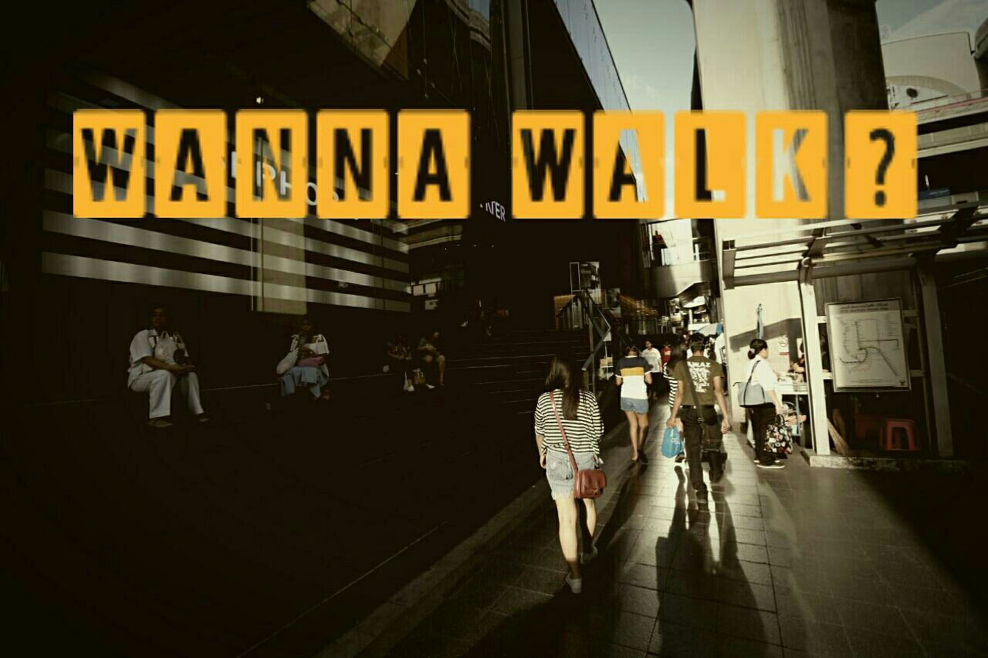 Walk Walking Around The City  Wanna Walk With Me? City Siam Paragon