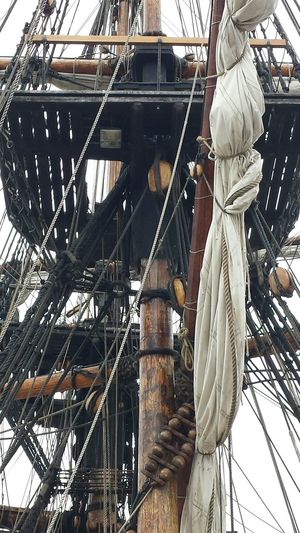 Nautical Pirate Ship Rigging Lines And Shapes Craft Mast Boat Intricate