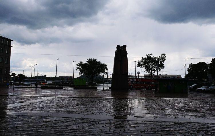 One Ofthe Best  Unpredictable Weather Riga Latvia Europe