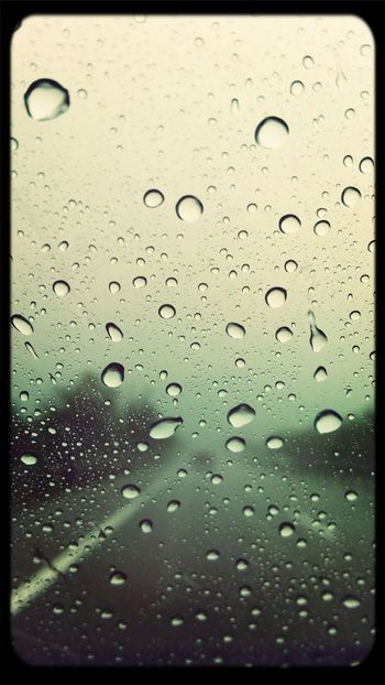 its raining cats and dog.
