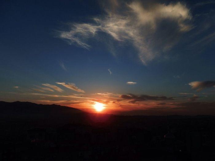 Clouds And Sky Colors Sunset_collection Lanscape Photography Sunsetizmir Buca  Izmir Türkiye
