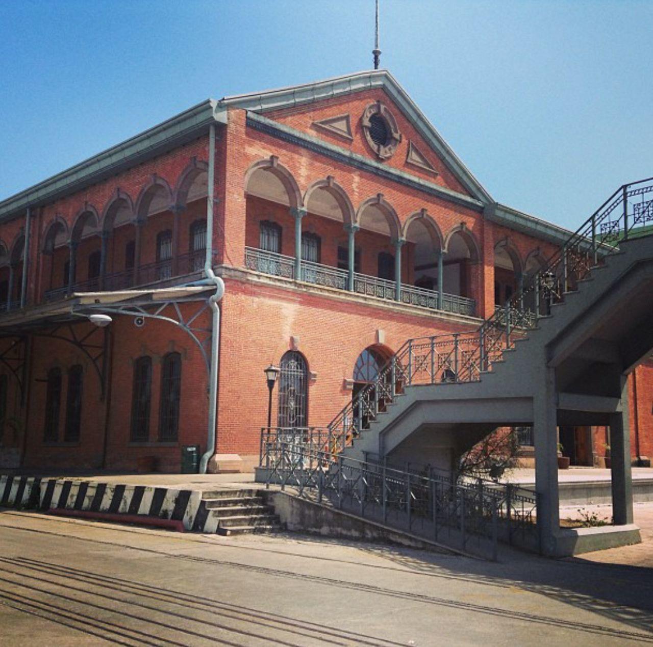 City Architecture No People Travel Destinations Tampico Tamaulipas Mexico Railroad Track Port