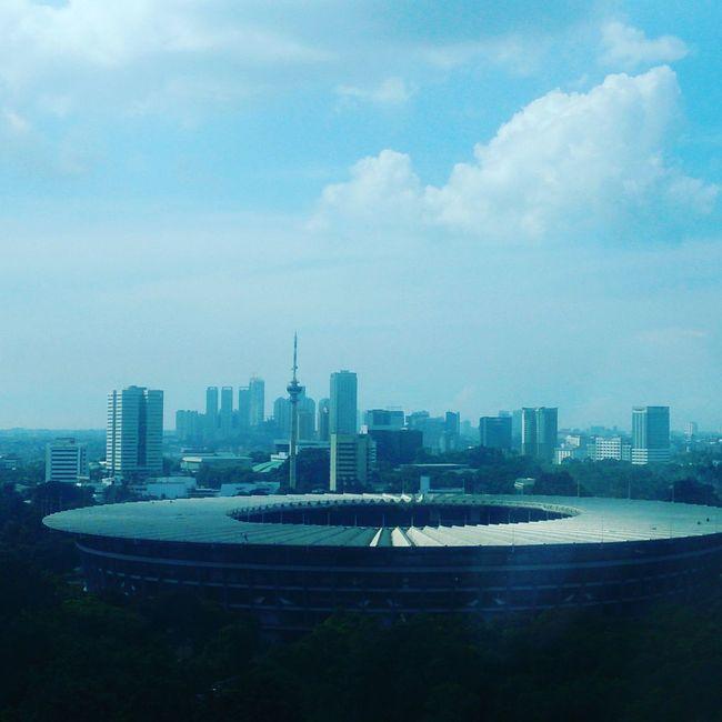 Stadium INDONESIA Gelorabungkarno City View Landscape
