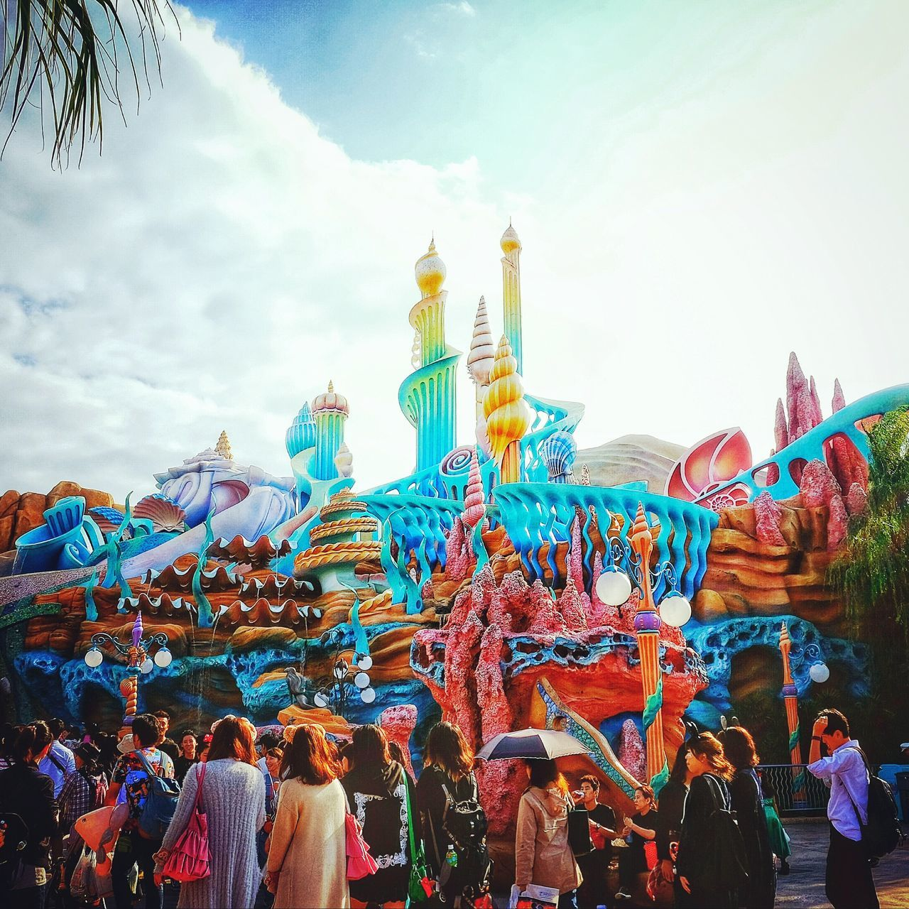 DISNEYSEA Amusement Parks Joyful Underthesea Sealife ARIEL PLACE MERMAID Outdoors Cloud - Sky First Eyeem Photo