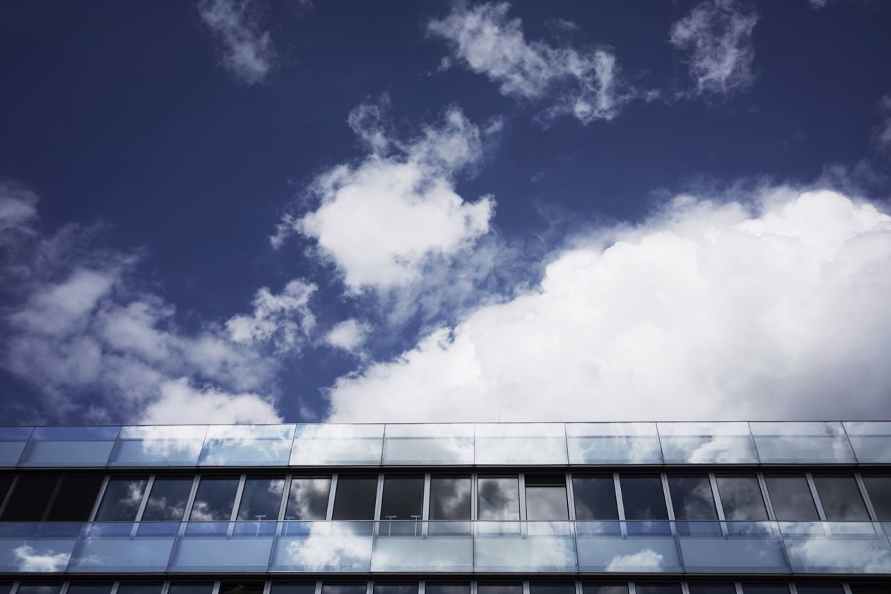 Sky Low Angle View Cloud - Sky Day No People Outdoors Architecture Blue Building Exterior Built Structure Nature