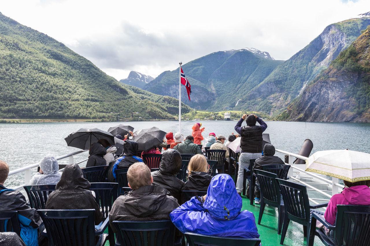Beautiful stock photos of norway, Aurlandsvangen, Beauty In Nature, Boat, Day