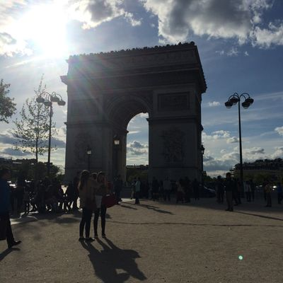 Sunny Paris ArcduTriomphe Paris Trip Sunny Beautiful Art Printemps
