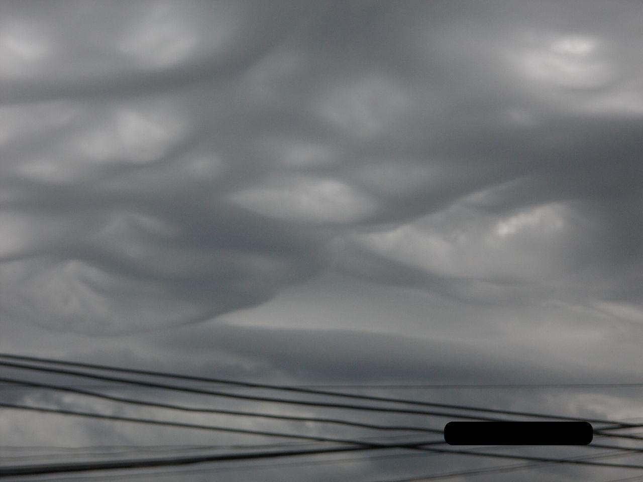 Nubes Cielo Raro Encasa