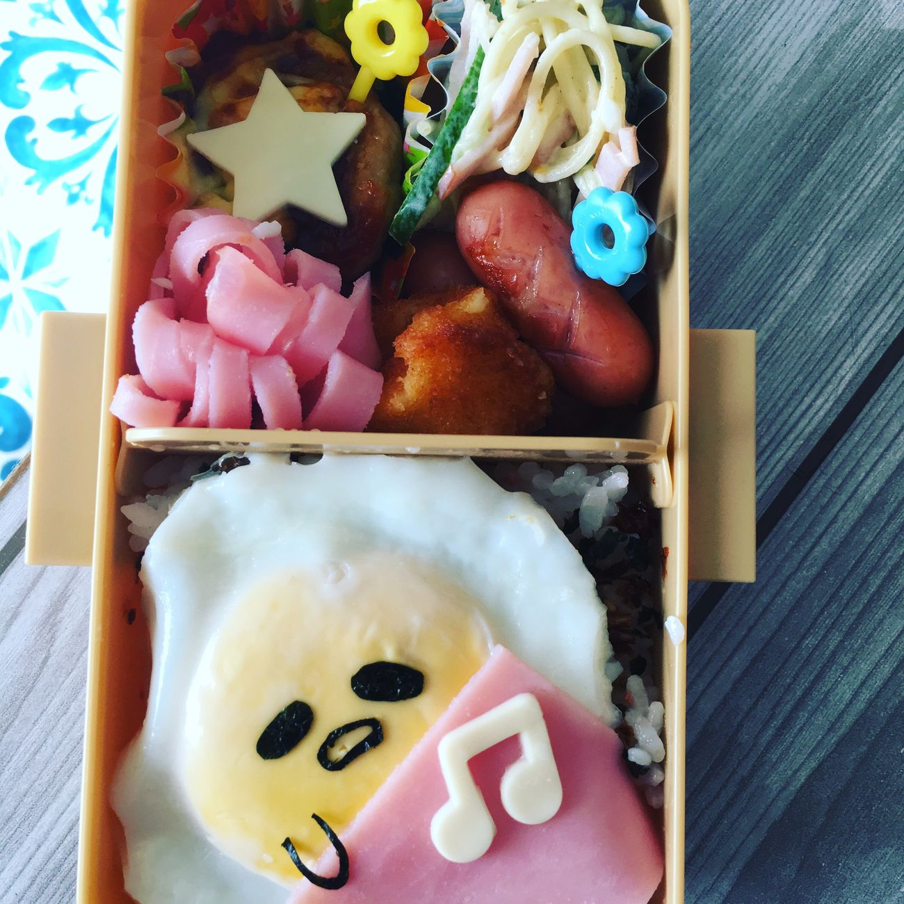 Hi! Happy おべんとう べんとー Lunch Box Kyaraben Dericious