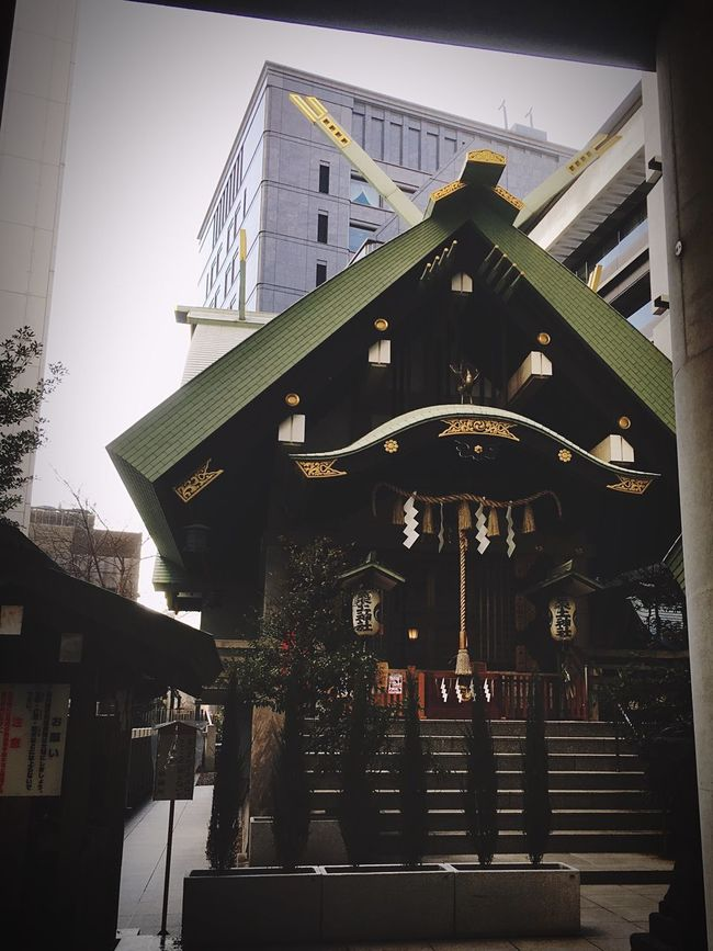 平将門 築土神社