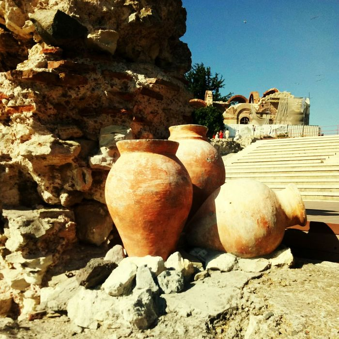 Terracotta Earthenware Clay Rock - Object Day Ancient Outdoors No People Ancient Civilization Beauty In Nature