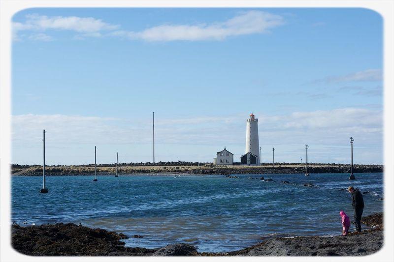 Live from the shore Sea Shore Lighthouse Beach Enjoying Life Taking Photos