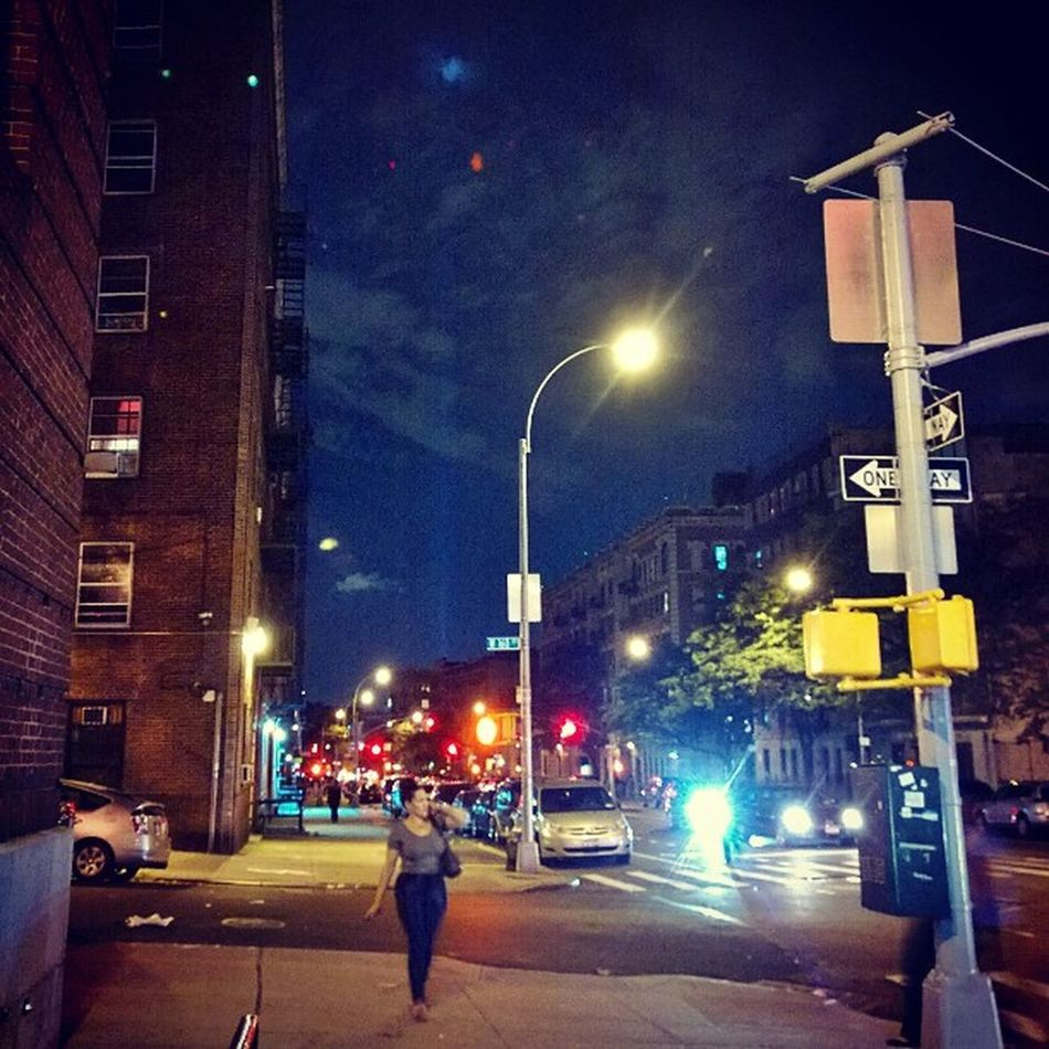 In Washingtonheights and I can see the 9/11 TributeOfLights being tested! Getting all my gear ready for some GREAT photos on Friday!! Amped Iheartny emmacphotos