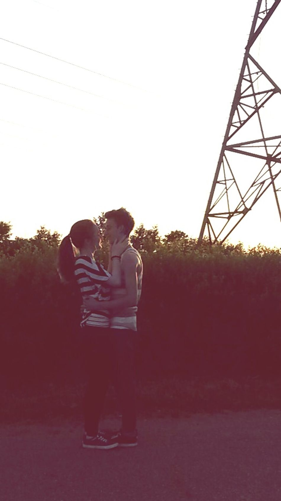 Sunset I Love My Girl  ich liebe alles an dir*.* only you and me!