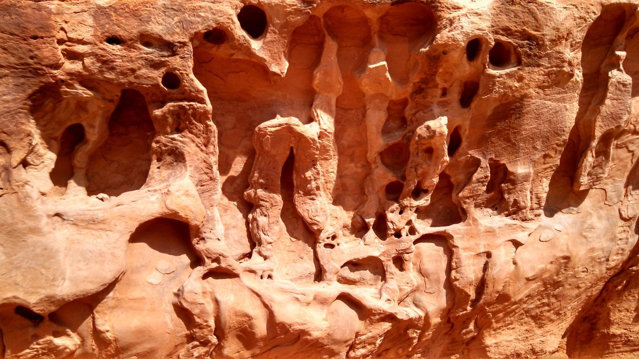 #arches #nationalpark #redrock #Utah Arid Climate Backgrounds Brown Cave Day Eroded Full Frame Geology Natural Pattern Nature No People Outdoors Pattern Physical Geography Rock Rock - Object Rock Formation Rough Sunlight Textured