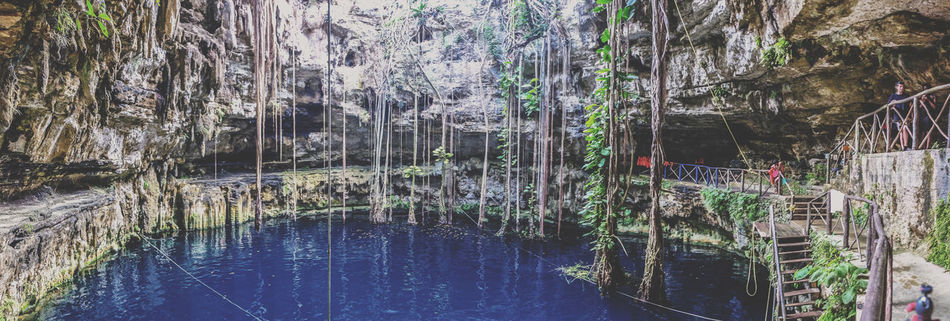 Nature Beauty In Nature Vacations Travel Destinations Cenote Cenotes Panoramic Mexico Travel Yúcatan Water