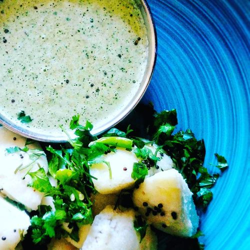 The Sounth Indian special- Idli And Chutney First Eyeem Photo