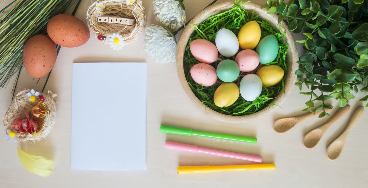 Day Decoration Easter Easter Eggs Eggs Flower Holiday Indoors  Multi Colored Nature No People Religion Tradition