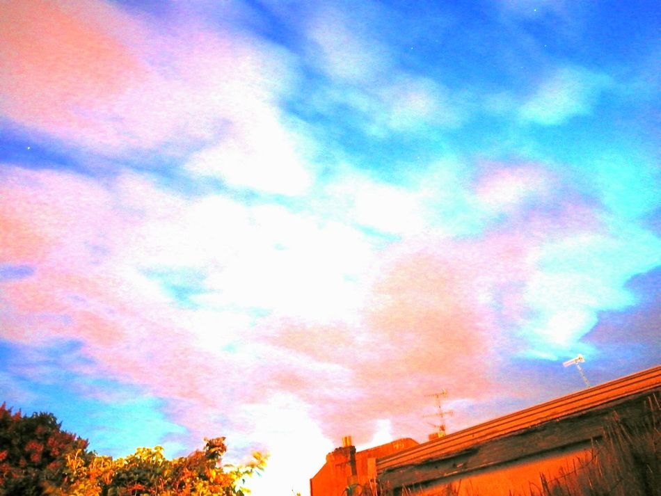 Cloud - Sky Multi Colored Sky Low Angle View Nature Outdoors Dusk Sky Lowlight Long Exposure
