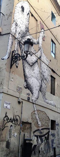 Paella inspired graffiti. Graffiti