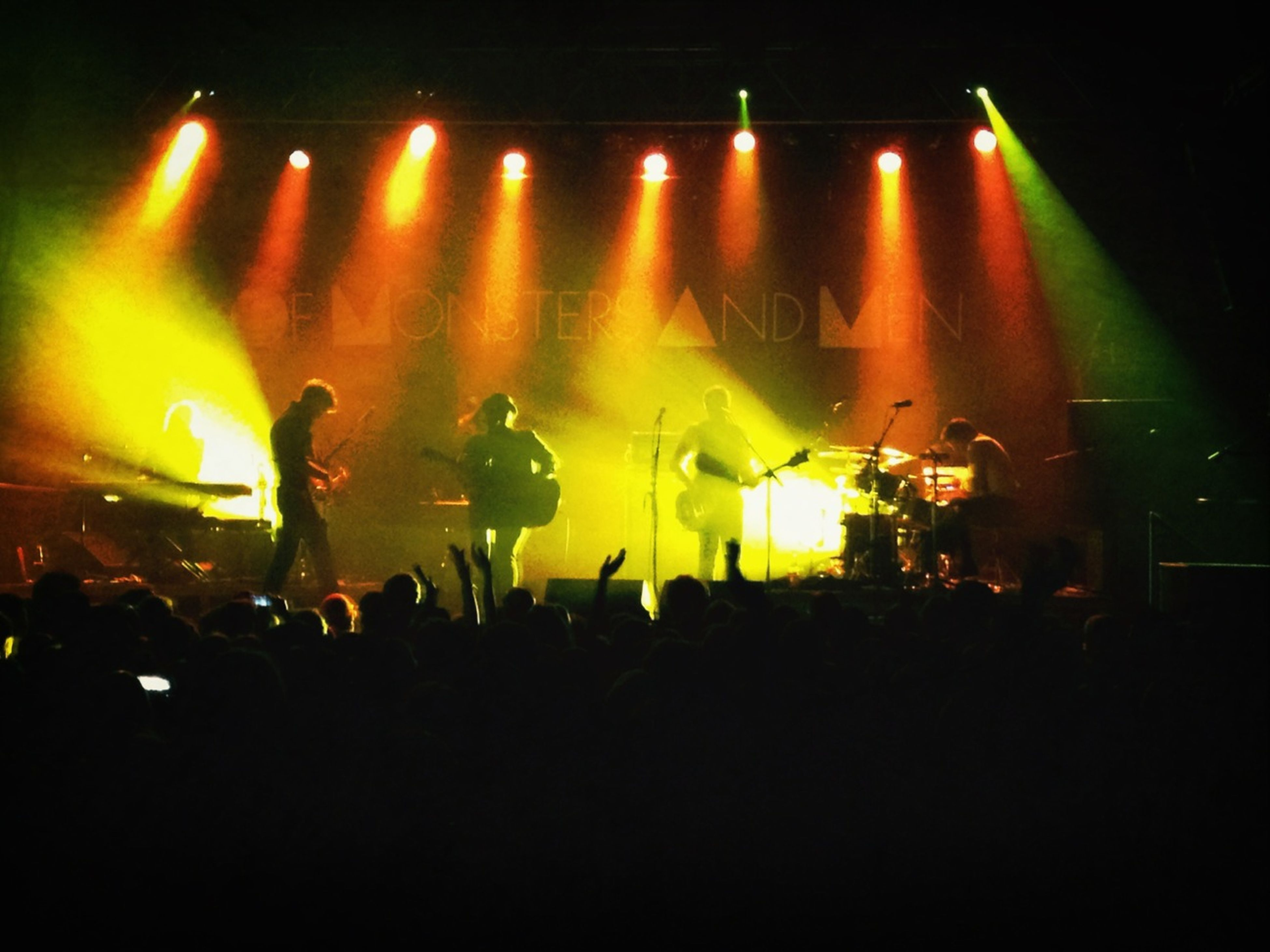 Of Monsters and Men @ First Ave last night with D and made two new friends! Awesome night!