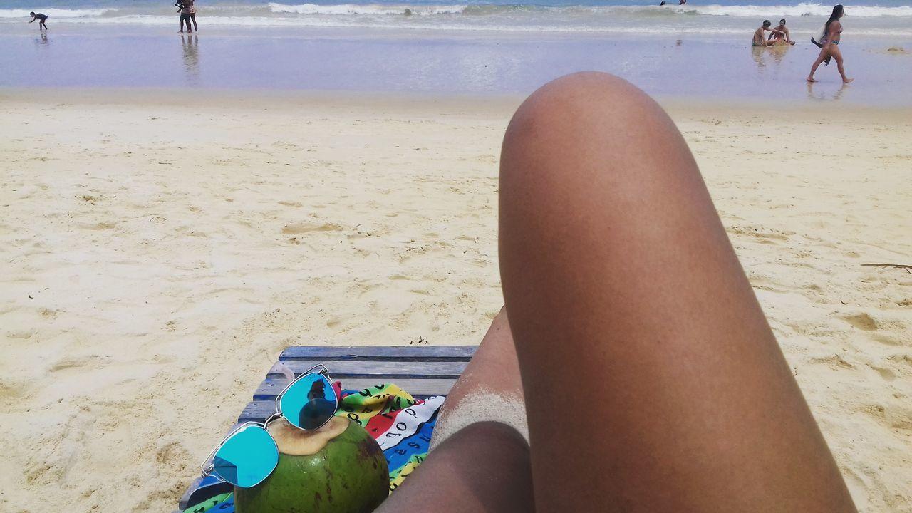 Beach Close-up Day Trancoso - BA Bahia Brasil Sunday Sun