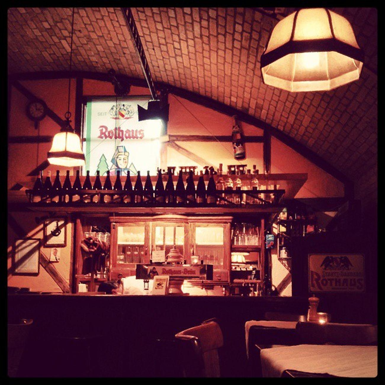 Jetzt gibt es erstmal Kässpätzle im Schwäbischen Spätzle-alitäten Restaurant.