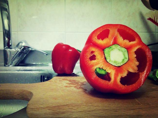 Food Pepper Red Vegetables
