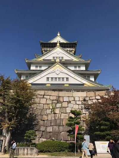 Osaka Castle Architecture Outdoors OSAKA Japan