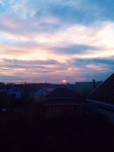 Blue sunset💎 Vscogood Vscocam Daily Beautiful Sunset Spring March Nature First Eyeem Photo