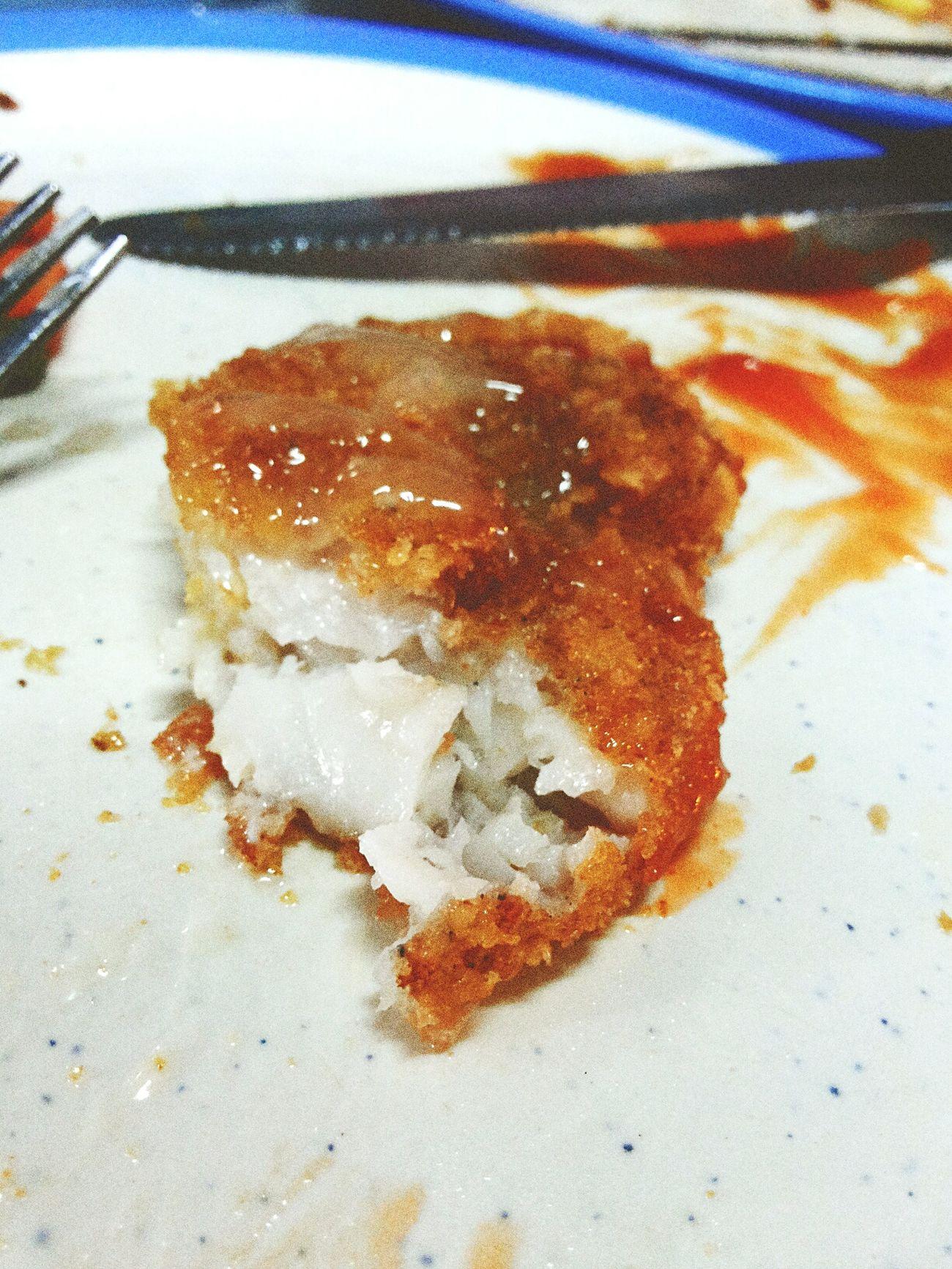 เลี่ยนนิสนุงแต่ก็อร่อย Food Ate Steak Dinner Fish Delicious Good